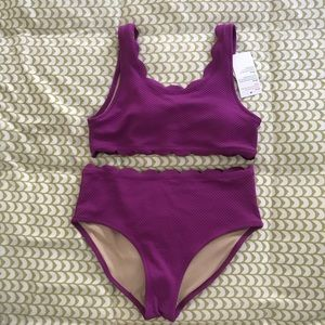 NWT Old Navy two piece swim suit